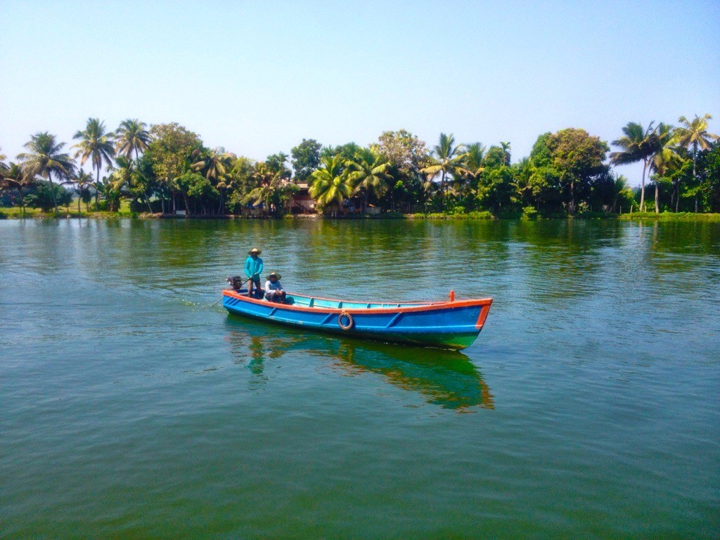 Kerala Backwaters - nechutne, vsak?